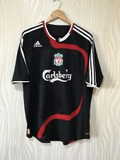 LIVERPOOL 2007 2008 THIRD FOOTBALL SHIRT SOCCER JERSEY ADIDAS