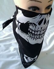 12 pcs Skull Jaw Bone Bandana Sport Face Mask Paintball Skullcap Head Wrap