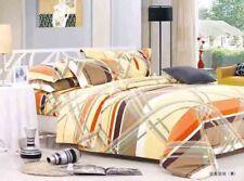 Multi Stripe Duvet Cover Set Quilt Cover Duvet Cover Pillow Cases Fitted Sheet