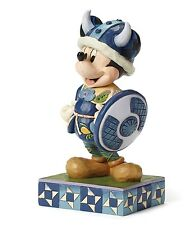 Disney Traditions Welcome To Norway Ornament Mickey Mouse Viking Resin Figurine