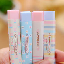 Stripe Candy Color Eraser School Supplies Stationery Rubber Students Gift