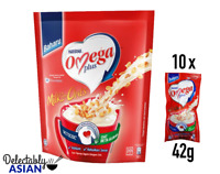 NESTLE OMEGA PLUS Instant Milk & Oats LOWERS CHOLESTEROL (10 sachets x 42g)