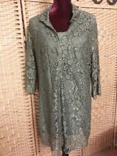 LADIES MILLERS LACEY TUNIC/DRESS SIZE 18