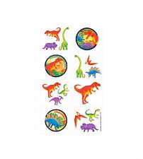 Prehistoric Dinosaur Tattoos 16ct. Amscan. Brand