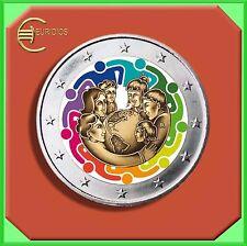 "2 Euro € Gedenkmünze Vatikan 2015 Coin Coins ""Weltfamilientreffen"" coloriert"