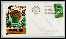 US FDC  # 952  3c Florida  Boll addressed, 9a528