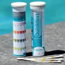 Bayrol Quicktest Wasser Teststreifen Whirlpool pH Wert Chlor Alkalinität Algizid