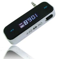 Wireless Radio FM Transmitter AUX 3.5mm Car Handsfree Kit For MP3 Phone Tablet