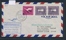 12175) LH FF Hamburg  - Shannon Irland 27.4.56, Brief