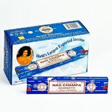 Box of Sai BABA NAG CHAMPA GENUINE INCENSE STICKS 15g BOX OF 12 FREE P&P