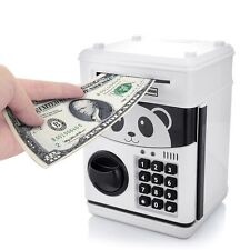 Coin Money Saving Box Electronic Password Piggy Bank Safe Children Boxes Safety
