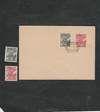 Lot  Poland 30, cover FDC+ 2 stamps NH