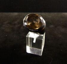 Ring Gr. 59 Silber 925 mit Rauchquarz