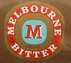 OLD AUSTRALIAN BEER LABEL, 1980s MELBOURNE BITTER CUB, 375 ML TYPE 6