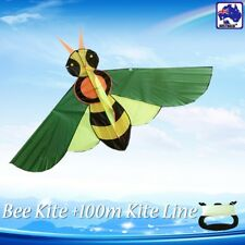 Bee Kite 210x110cm Single Line Included Easy to Fly Okit94566 Oklin2100