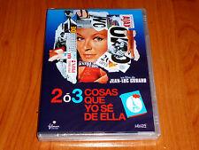 2 O 3 COSAS QUE YO SE DE ELLA  2 ou 3 choses que je sais d'elle  Jean Luc Godard