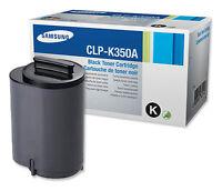 Genuine Samsung Black Toner Cartridge CLP-K350A  CLP-350N