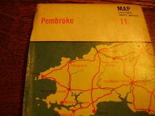 Bartholomews Maps- 2 off - Pembroke(Map 11) and Cardigan(Sheet 17)