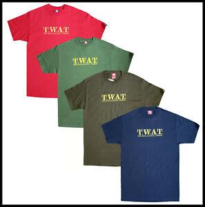Mens Short Sleeve Plain T-shirt 100% Cotton Premium *MADE IN USA* Twat Novelty