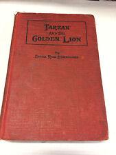 Tarzan and the Golden Lion, Edgar Rice Burroughs, 1923, Grosset and Dunlap