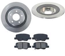 REAR Disc Rotors Brake Ceramic Pads 3pc for Mitsubishi Outlander Sport 13-18