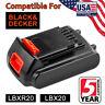 For Black & Decker LBX20 LBXR20-OPE 40Wh 20V Max LITHIUM Battery LBXR2020-OPE US