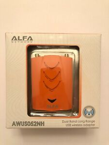 ALFA AWUS052NH 2.4/5 GHz Dual Band 300 Mbps USB WiFiKali Linux awus 052 051 036