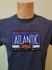 More details for atlantic 252 t shirt ilr pirate station 1980s 90s retro iconic tee lw radio 252