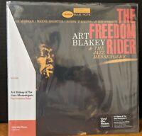 ART BLAKEY - THE FREEDOM RIDER VMP Lee Morgan Wayne Shorter LP Blue Note NM
