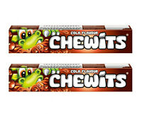 2 x CHEWITS Cola Flavor Chewy Soft Candy 2 x 29g 1oz