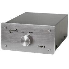 Dynavox Verstärkerumschalter und Boxenumschalter AMP-S, Silber