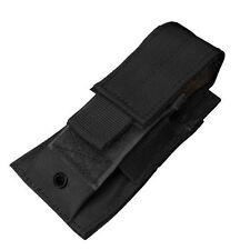 CONDOR MA32 MOLLE Single Pistol Mag Magazine Knife Flashlight Tool Pouch BLACK