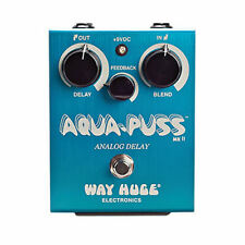 Way Huge Aqua-Puss MkII Analog Delay Effect Pedal WHE701