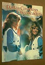 VINTAGE DALLAS COWBOYS FOOTBALL CHEERLEADERS 1979-1980 YEARBOOK - sexy girls