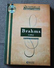 Brahms, époque romantique - coffret , 10 CD