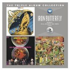 IRON BUTTERFLY-THE TRIPLE ALBUM COLLECTION (HEAVY/IN A GADDA DA VIDA/) 3 CD NEU