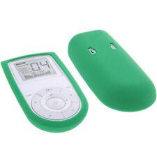 Tasche für Sanitas SEM 43 - EMS/TENS Reizstromgerät  Schutz Hülle Silicon Grün