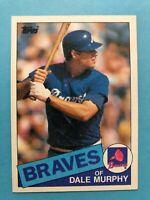 1985 Topps Atlanta Braves Complete Team Set - Horner/Watson/Murphy