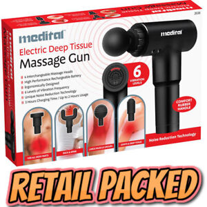 Percussion Massage Gun Massager Muscle Vibration Relaxing Therapy Deep Tissue