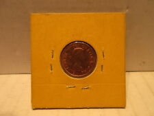 1962 Double Date Canadian One Cent Coin Elizabeth II Canada Error