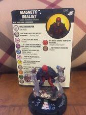 Heroclix Magneto Realist #050 Marvel X-Men Xavier's School - Super Rare - NWC!