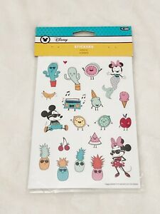 Disney, Mickey Mouse and Friends Summer Stickers, 6 Sheets, Same Design