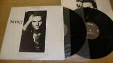 Sting - Nothing Like The Sun - Double LP Record  VG+ VG+ VG+