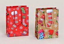 24 Geschenktüte Weihnachten Strumpf Weihnachtstüte 2-fach sortiert