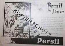 Persil in Japan Henkel Waschmittel Werbeanzeige anno 1930 Reklame Werbung