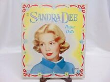Vintage Original 1959 Uncut Authorized Sandra Dee Paper Doll s - Saalfield