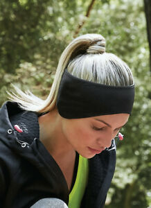 Softshell Sports Tech Running Headband Breathable wide Yoga Soft Fitness Sports