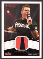 WWE 2012 (Topps) WHITE BORDER AUTHENTIC SHIRT RELIC Card: THE MIZ