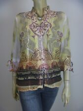 SEVEN SISTERS Cropped Sleeve Shirt sz 8 10 - BUY Any 5 Items = Free Post