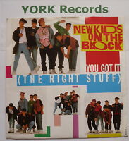"""NEW KIDS ON THE BLOCK - You Got It - Excellent Condition 7"""" Single CBS BLOCK 2"""